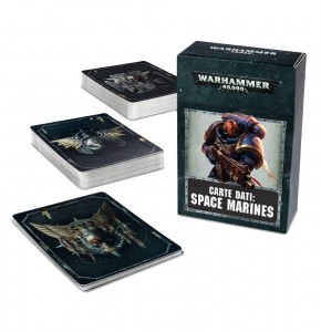 DATACARDS: SPACE MARINES (ENG) 2017