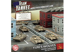 YURI'S WOLVES - ARMY DEAL (PLASTIC) (X7)
