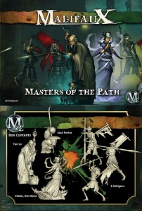 MASTERS OF THE PATH CREW BOX