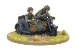 Blitzkrieg German Kradschützen Motorcycle Combination (1939-1942)
