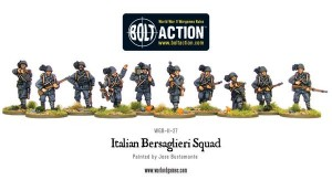 Italian Infantry Section
