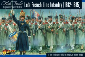 LATE FRENCH LINE INFANTRY (1812-1815)