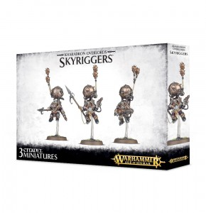 KHARADRON OVERLORDS SKYRIGGERS (SKYWARDENS / ENDRINRIGGERS)