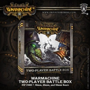 WARMACHINE 2 PLAYER BATTLEBOX