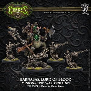 MINION EPIC WARLOCK UNIT LORD OF BLOOD - BARNABAS (4)