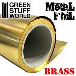 FLEXIBLE BRASS METAL FOIL