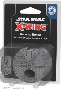 STAR WARS: X-WING - GALACTIC EMPIRE MANEUVER DIAL UPGRADE KIT (SECOND EDITION)