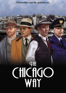 THE CHICAGO WAY RULE BOOK, CAMPAIGN MAP & CARD DECK