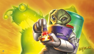 KEYFORGE: MARTIAN MADNESS PLAYMAT
