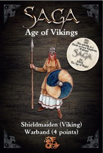SHIELDMAIDEN WARBAND (4 POINTS)