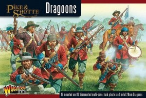 DRAGOONS (12 MOUNTED, 12 DISMOUNTED)