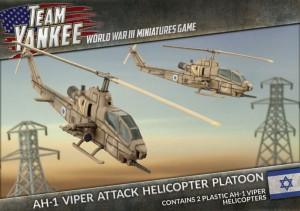 AH-1 COBRA ATTACK HELICOPTER PLATOON (X2 PLASTIC)