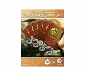 GUILD BALL SEASON 1 PLOT CARD & TOKEN SET