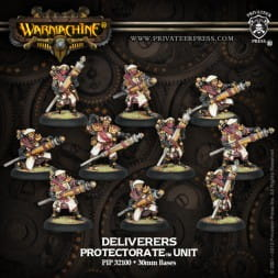 PROTECTORATE DELIVERERS (10)  REPACK