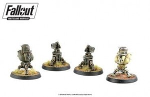 FALLOUT: TURRETS (PACK OF 4 WEAPON TURRETS)