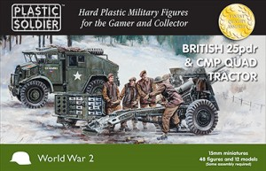 15mm British 25pdr and CMP Quad Tractor