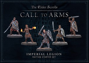 ELDER SCROLLS: IMPERIAL LEGION PLASTIC FACTION STARTER (BOX OF 5)