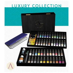 SCALE75 ARTIST PAINT SET - LUXURY WOODEN BOX