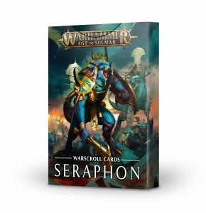 WARSCROLL CARDS: SERAPHON (ENGLISH)