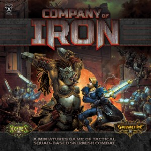 COMPANY OF IRON 2 PLAYER GAME (WM & HORDES)