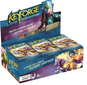 KEYFORGE: AGE OF ASCENSION - ARCHON DECK BOX (12 TALII)