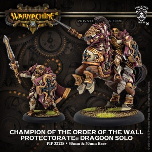 PROTECTORATE DRAGOON CHAMPION OF THE ORDER OF THE WALL
