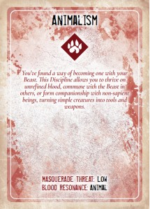 Vampire: The Masquerade, Discipline and Blood Magic Card Deck