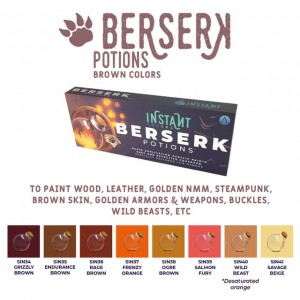 SCALE75 INSTANT Colors Set - Berserk Potions