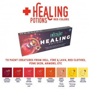 SCALE75 INSTANT Colors Set - Healing Potions