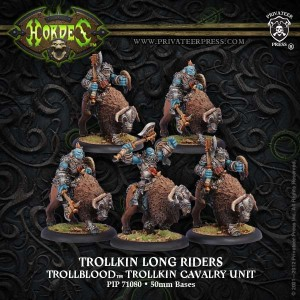 TROLLBLOOD CAVALRY LONG RIDERS (5) REPACK