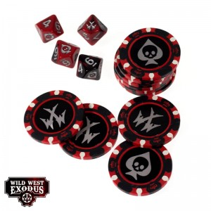 FORTUNE CHIPS & DICE SET