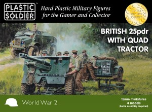 15mm British 25pdr and Morris Quad Tractor