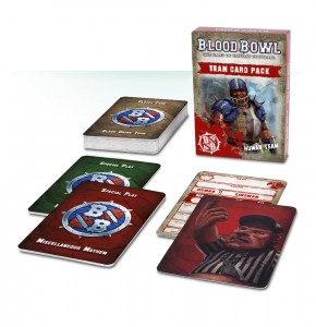 BLOOD BOWL: HUMAN TEAM CARD PACK (ENG)
