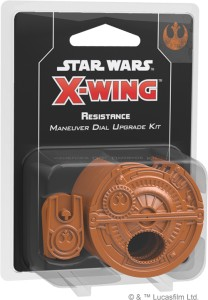 STAR WARS: X-WING - RESISTANCE MANEUVER DIAL UPGRADE KIT (SECOND EDITION)