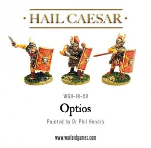 EARLY IMPERIAL ROMAN OPTIOS