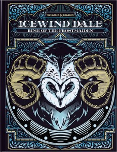 D&D Icewind Dale: Rime of the Frostmaiden (Alternate Cover)