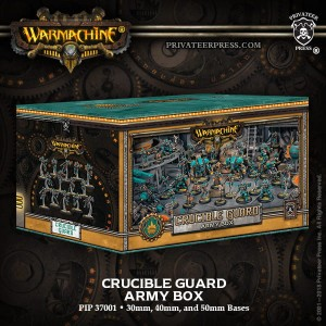 GOLDEN CRUCIBLE ARMY BOX