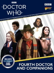 THE FOURTH DOCTOR & COMPANIONS