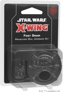 STAR WARS: X-WING - FIRST ORDER MANEUVER DIAL UPGRADE KIT (SECOND EDITION)
