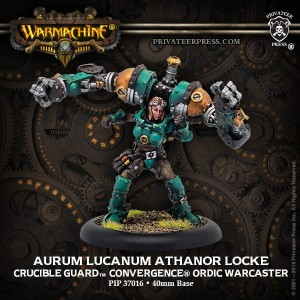 GOLDEN CRUCIBLE WARCASTER AURUM LUCANUM ATHANOR LOCKE