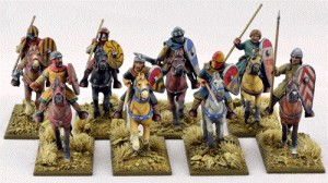 Mounted Crusader Sergeants (Warriors)