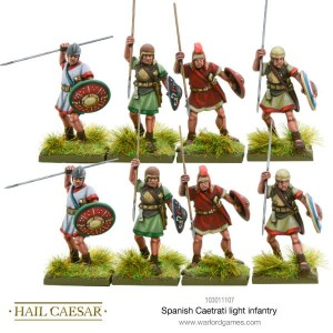 SPANISH CAETRATI LIGHT INFANTRY (8)