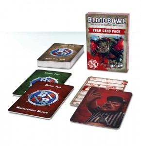 BLOOD BOWL: ORC TEAM CARD PACK (ENGLISH)
