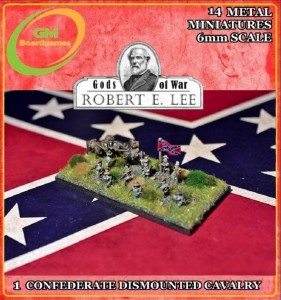 1 CONFEDERATE DISMOUNTED CAVALRY