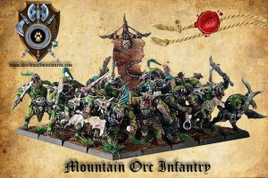 MOUNTAIN ORC INFANTRY  (20)
