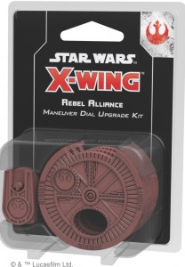 STAR WARS: X-WING - REBEL ALLIANCE MANEUVER DIAL UPGRADE KIT (SECOND EDITION)