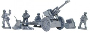Blitzkrieg German leFH 18 10.5cm Medium Artillery (1939-42)
