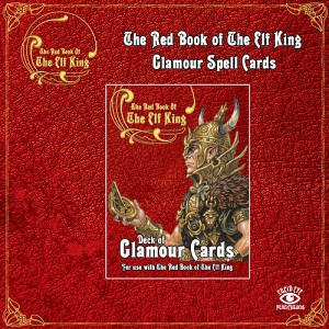 THE RED BOOK OF THE ELF KING GLAMOUR SPELL CARDS
