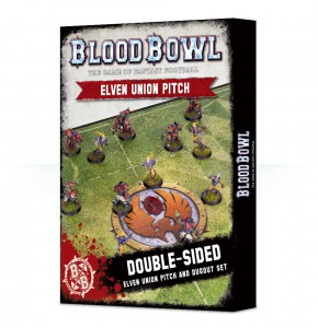 BLOOD BOWL: ELF PITCH & DUGOUTS