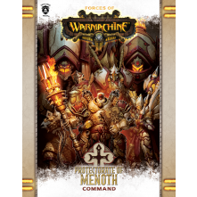 FORCES OF WARMACHINE: PROTECTORATE OF MENOTH COMMAND BOOK (HARD COVER)
